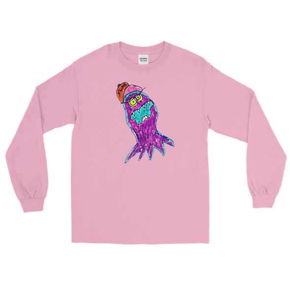 Snuggle Squid - Pink Long Sleeve