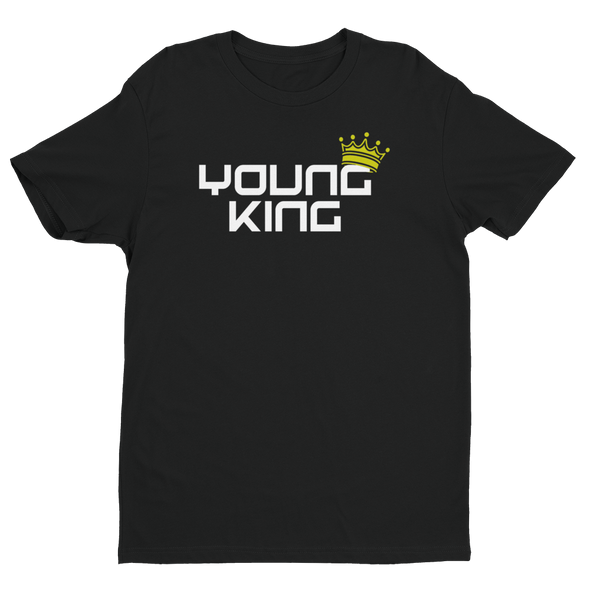 Young King - Black Tee