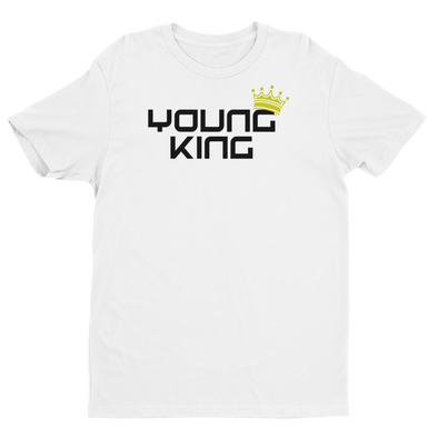 Young King - White Tee