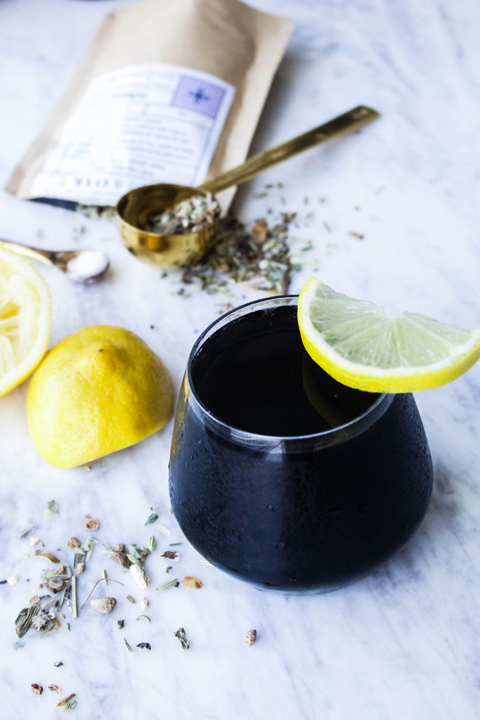 Recipe: Reboot Tea Tonic w/ Activated Charcoal