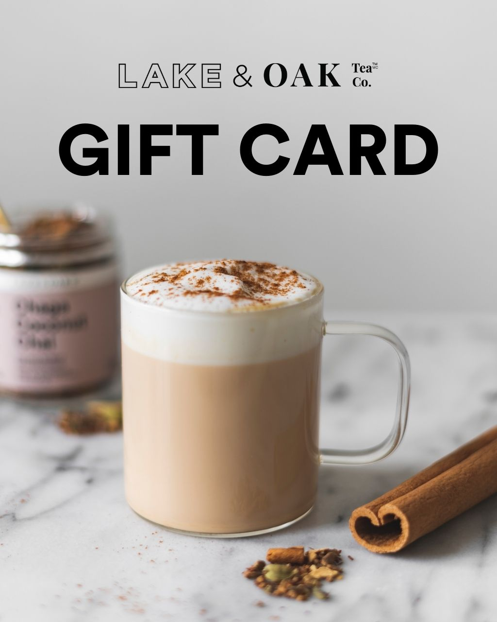 Lake & Oak Gift Card