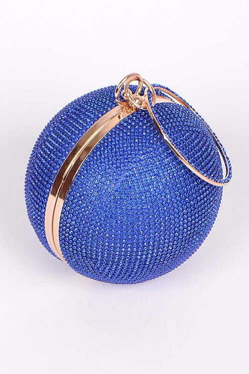 ROUND BALL CLUTCH - UVM Collection