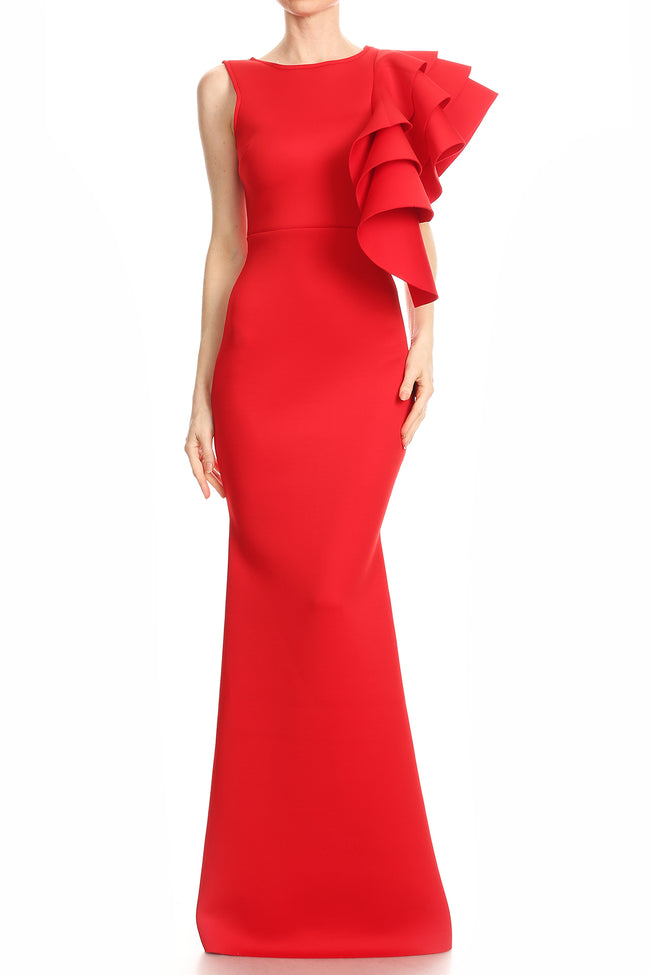 KENDALL LONG DRESS - UVM Collection