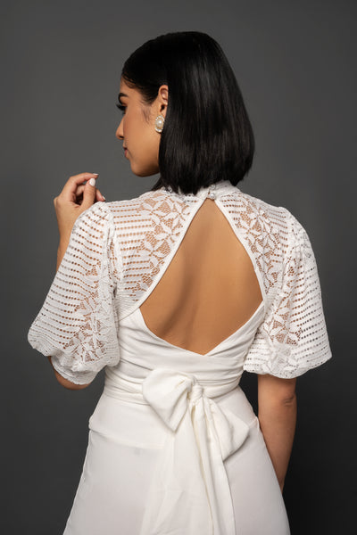 JUNIPER LACE TOP - UVM Collection