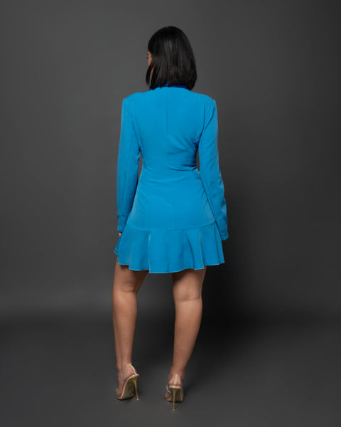 CLARAMAY BLAZER DRESS - UVM Collection