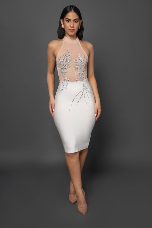 LAILA BANDAGE DRESS - UVM Collection