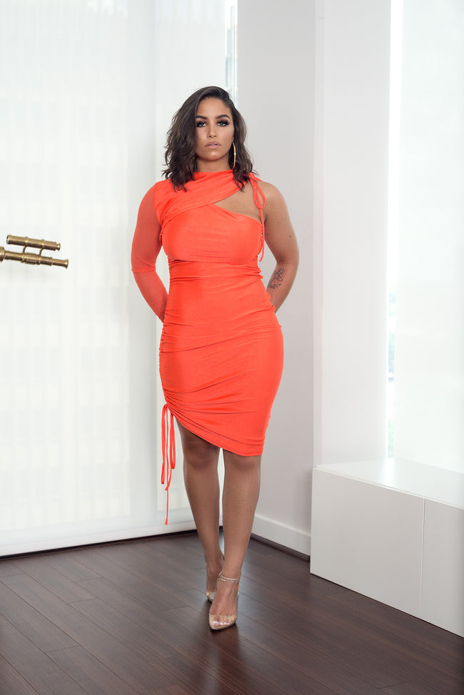 PRIMROSE BODYCON DRESS - UVM Collection