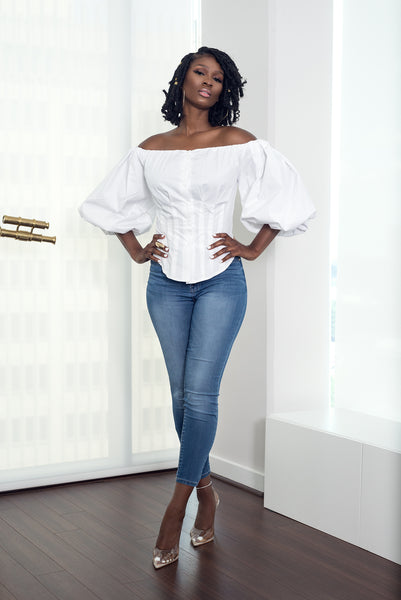 DIVA OFF SHOULDER TOP - UVM Collection