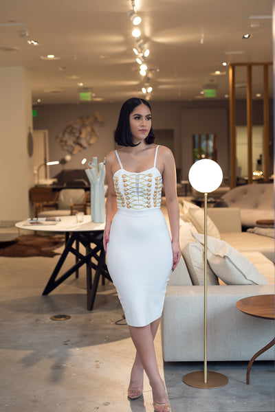 MARCELINE BANDAGE DRESS - UVM Collection