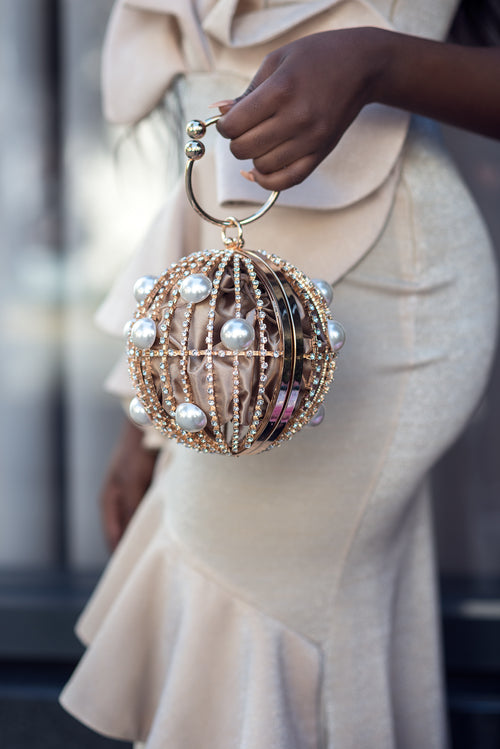 ARIA ROUND PURSE - UVM Collection