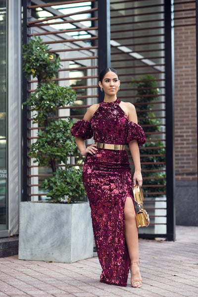 EFORA SEQUINS DRESS - UVM Collection