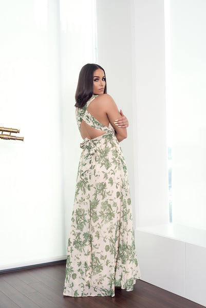ESMERALDA MAXI DRESS - UVM Collection