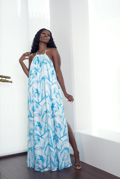 OCEAN BLUE DRESS - UVM Collection
