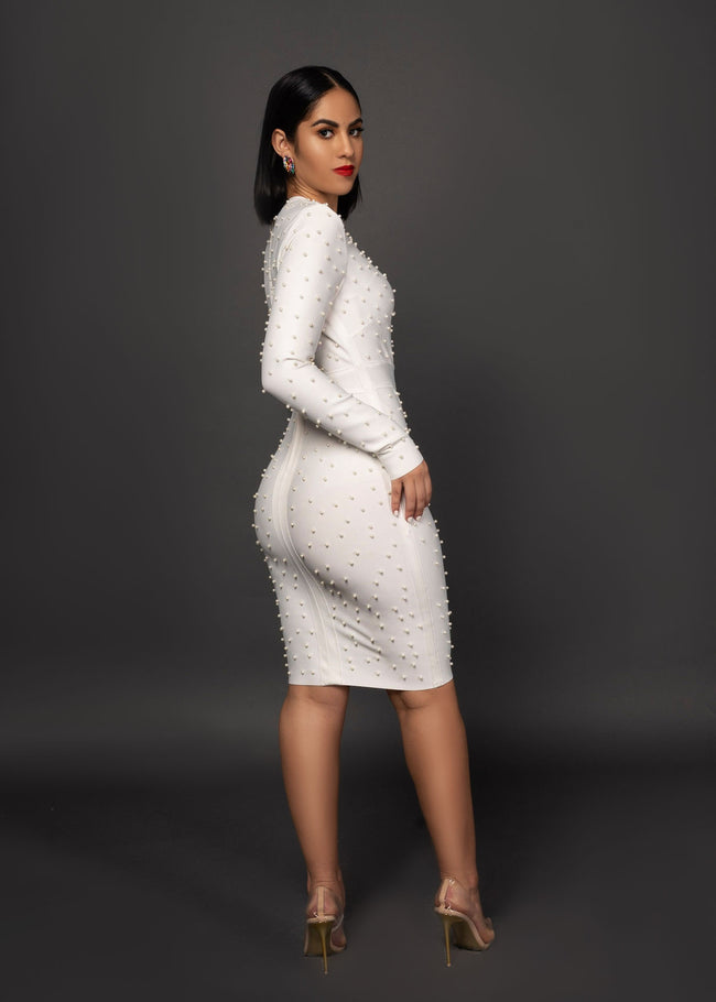 PERLA BANDAGE DRESS - UVM Collection