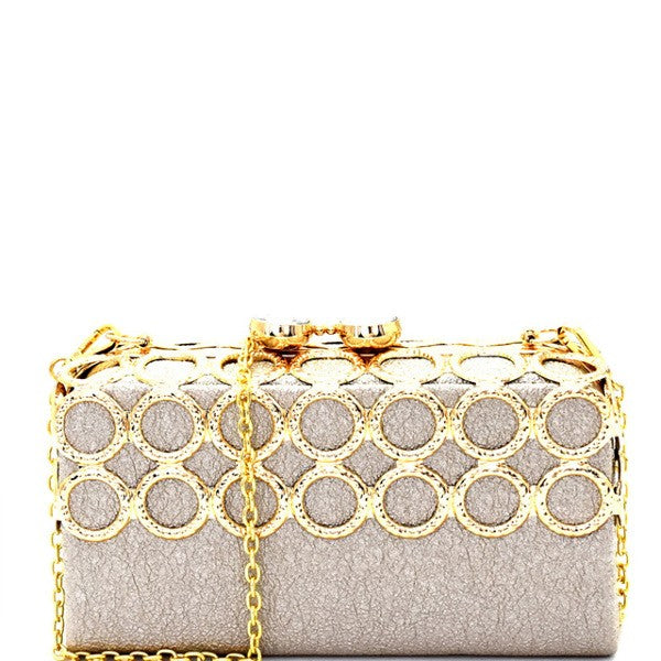 GOLDEN SKY CLUTCH - UVM Collection