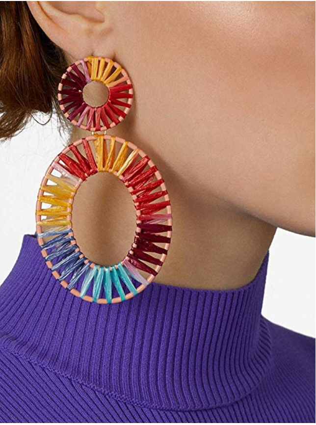 BEAUTIFUL STATEMENT EARRING - UVM Collection
