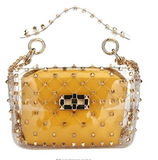 EVERYTHING SPIKES MINI PURSE - UVM Collection