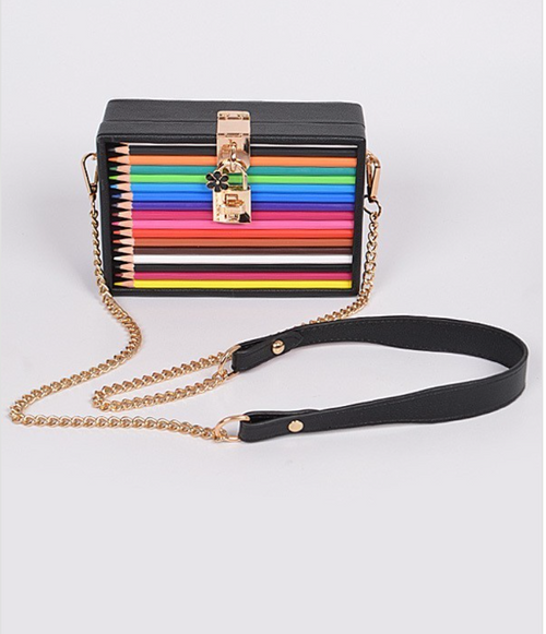 PENCIL CASE CLUTCH - UVM Collection