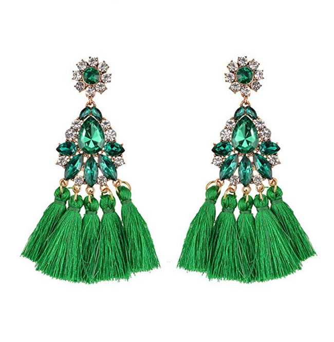 JAS TASSEL EAARING - UVM Collection