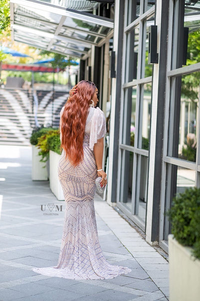 QUEEN CRYSTAL DRESS (FINAL SALE) - UVM Collection