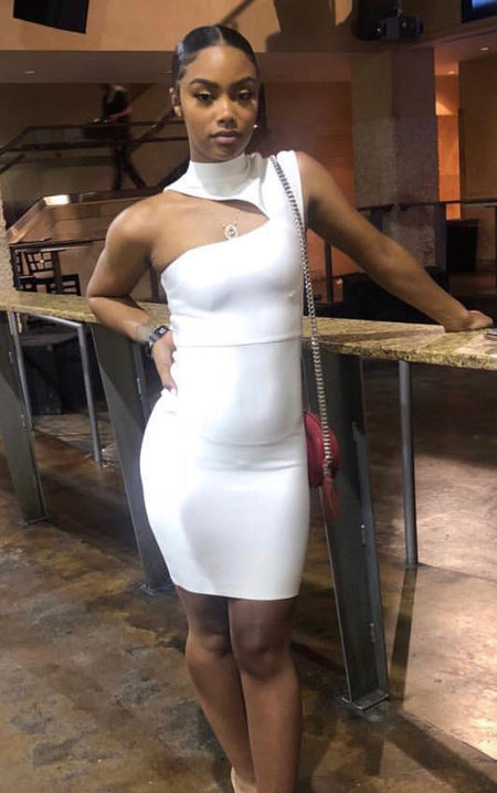 SHELBA BANDAGE DRESS