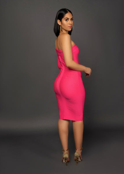 NORWAY BANDAGE DRESS - UVM Collection