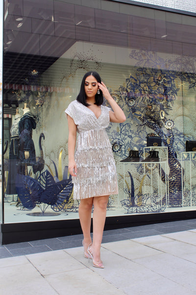 ROSALEEN FRINGE DRESS - UVM Collection