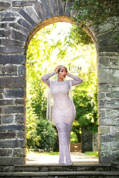 ICY LUX CRYSTAL DRESS - UVM Collection