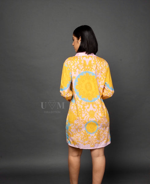 MOVI SHIRT DRESS - UVM Collection