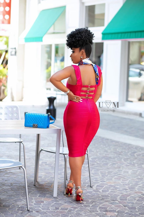 KIMOYA BANDAGE DRESS - UVM Collection