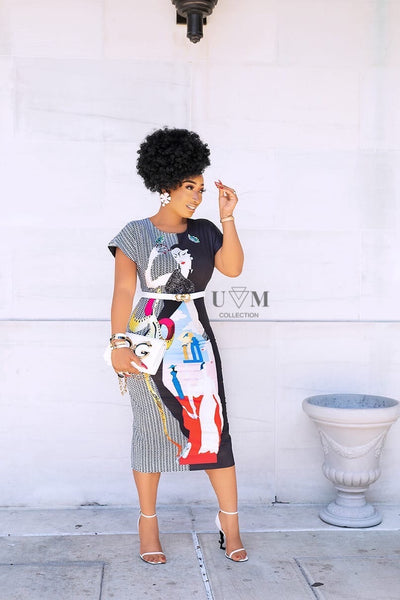 ORION ART DRESS - UVM Collection
