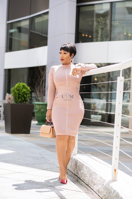 TIMI BANDAGE DRESS
