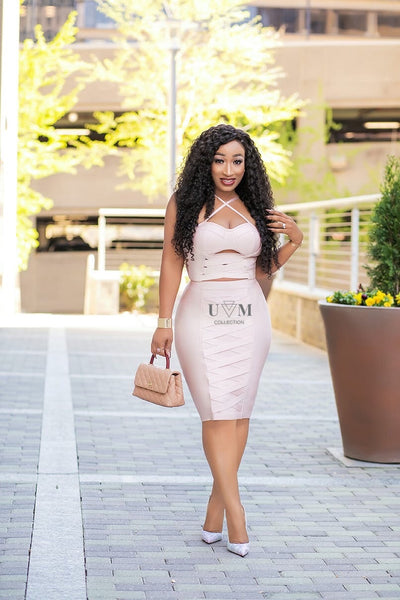 TIMI BANDAGE DRESS - UVM Collection