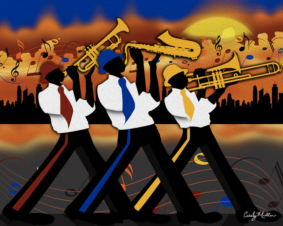 Jazz Band Trio
