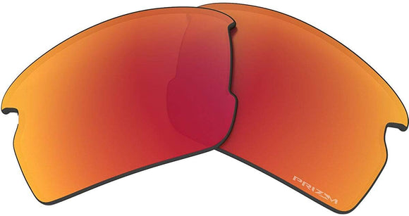 Oakley Flak 2.0 ALK Replacement Lens Sunglass Accessories,One Size,Prizm Ruby Polarized
