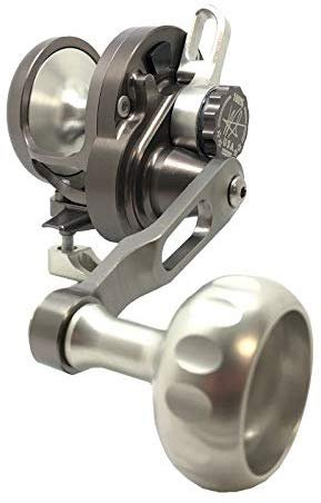 SEiGLER Small Game Narrow Conventional Reel 6:1 Smoke Silver RH