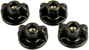 Yakattack Lopro WingKnob, 1/4-20 Threads, Brass Insert, 4 pack