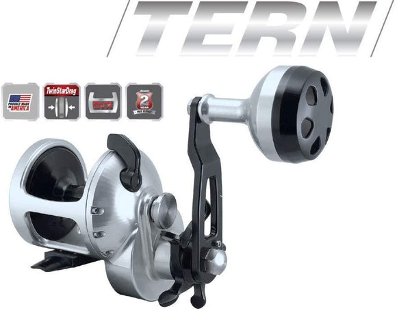 Accurate TX-400L Tern 4.7:1 Lefty Star Drag Reel