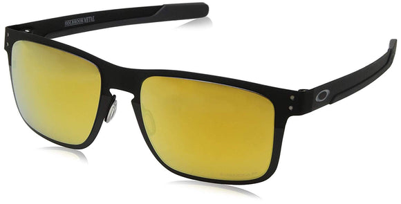 Oakley Men's OO4123 Holbrook Metal Square Sunglasses