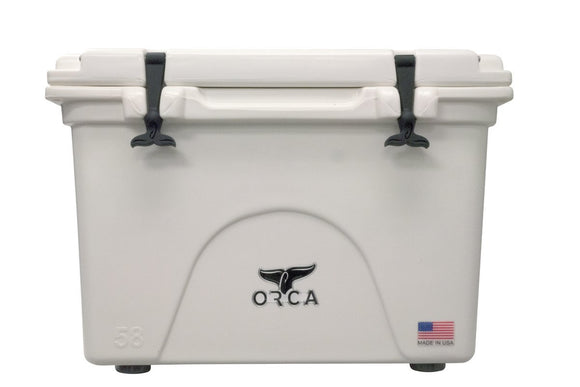 ORCA BW058ORCORCA Cooler, White, 58-Quart