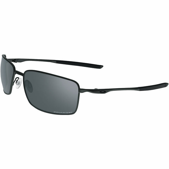 Oakley Men's OO4075 Square Wire Rectangular Metal Sunglasses