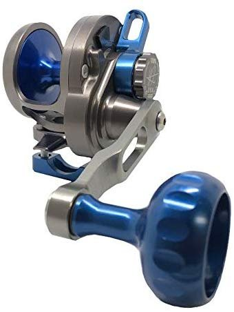SEiGLER Small Game Narrow Conventional Reel 6:1 Smoke Blue RH