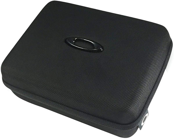 Oakley Ellipse O Array Sunglass Case, Black, One Size