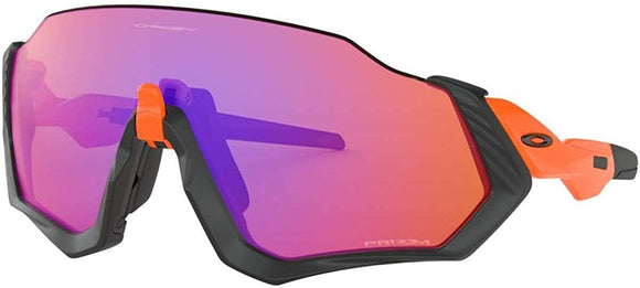Oakley Men's OO9401 Flight Jacket Shield Sunglasses