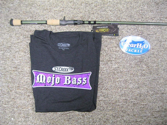 St Croix Mojo Bass Series Glass Casting Rod
