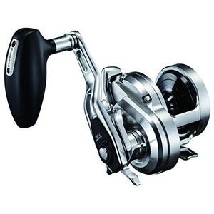 black hall Ocea Jigger Saltwater Conventional Jigging Fishing Reels, Right Hand, 8+1,