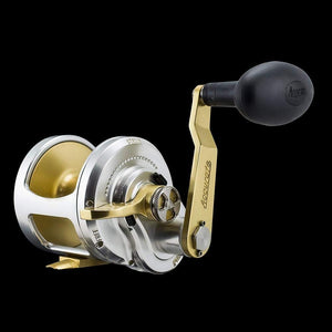 Accurate Boss Fury FX-600X Reel - Right-Hand - Silver/Gold
