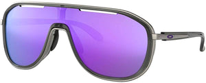 Oakley Women's OO4133 Outpace Rectangular Metal Sunglasses