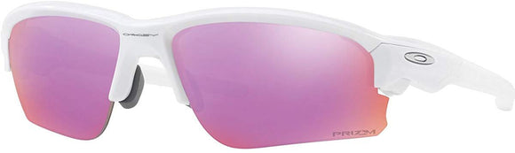 Oakley Men's OO9373 Flak Draft Asian Fit Rectangular Sunglasses