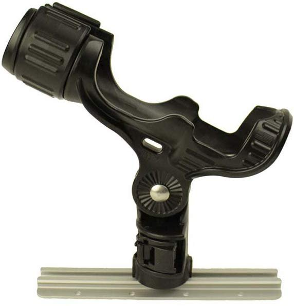 YakAttack Omega Rod Holder with LockNLoad Track Mounting Base